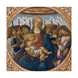 Madonna and Child with Singing Angels, C.1477 Giclee Print by Sandro Botticelli