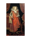 Frances Knyvett, Countess of Rutland Giclee Print by Marcus, The Younger Gheeraerts