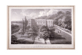 View of Kensington House Lunatic Asylum, C.1830 Giclee Print by William Gauci
