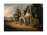 North Carolina Emigrants, Poor White Folks, 1845 Giclee Print by James Henry Beard