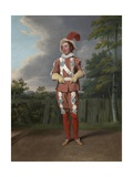 Thomas Collins as Slender in 'The Merry Wives of Windsor' by Shakespeare, Drury Lane, 1802 Giclee Print by Samuel de Wilde