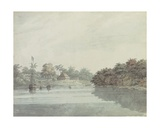 The Governor General's Budgerow on the Ganges, Brahmaputra Delta Giclee Print by Hubert Cornish