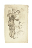 Study for 'Countryside Dance', 1883 Giclee Print by Pierre Auguste Renoir