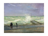 Stormy Day, Brighton, Late 19th or Early 20th Century Giclee Print by Charles Edward Conder