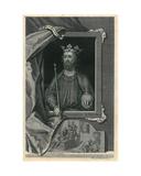 Edward II Giclée-Druck von George Vertue