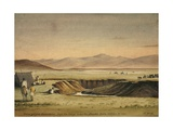 Garagorfoo Mountains from the Camp Near the Seerlie Lake, 1841 Giclee Print by Rupert Kirk