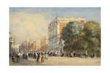 Old Whitehall with the Life Guards, 1831 Giclee Print by David Cox