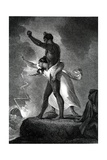 The Negro Revenged, Engraved by Abraham Raimbach, 1807 Giclee Print by Henry Fuseli