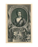 Queen Anne Giclee Print by Jacobus Houbraken