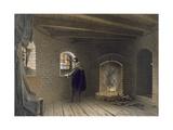 Prison of Duke John, Son of Gustav I, at Gripsholm, Following Erik's Deposition, from 'teckningar… Giclee Print by Karl Johann Billmark