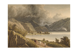 Keswick Lake, from Barrow Common Giclee Print by William Westall