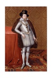 James VI and I, C.1606 Giclee Print by John De Critz