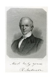 Rufus Anderson, Engraved by J. Andrews, C, 1860 Giclee Print by Henry Peters Gray