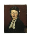 Portrait of Mrs. Adolphe Neyt, 1871 Giclee Print by Emile Auguste Carolus-Duran
