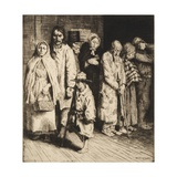 The Cause of the Poor Giclee Print by William Strang