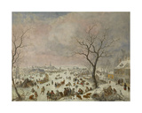 Winter Pleasures, 1710-18 Giclee Print by Jan Griffier