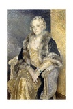 Portrait of Mrs Shirley Woolmer, C.1933-34 Giclee Print by Glyn Warren Philpot