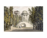 View of the Temple of Diana at Eisgrub Giclee Print by Laurenz Janscha