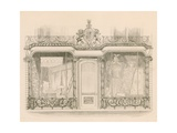 Shop Front for Messrs Saunders and Woodley, Upholsterers, Regent Street, London Giclee Print by Nathaniel Whittock