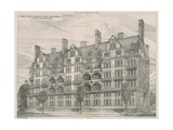 Albert Hall Mansions, South Kensington, London Giclee Print by Willam Richard Lethaby
