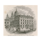 The Offices of the British and Foreign Bible Society in Queen Victoria Street, London Giclee Print