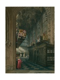 Henry 7th Chapel, Westminster Abbey, London Giclee Print by Charles Wild
