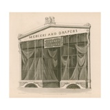 Shop Front for Messrs Turner and Clark, Mercers and Drapers, Coventry Street, London Giclee Print by Nathaniel Whittock