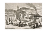 Spain. Sevilla. 19th Cenutry. Corral Del Conde. Engraving Giclee Print