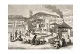Spain. Sevilla. 19th Cenutry. Corral Del Conde. Engraving Giclee Print
