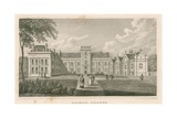 Dulwich College, London Giclee Print by Nathaniel Whittock