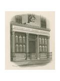 Shop Front of Godfrey and Cooke, Chemists, Conduit Street, London Giclee Print by Nathaniel Whittock