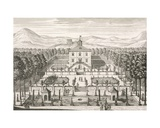 House and Garden, 1715 Giclee Print by Matthias Diesel