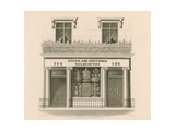 Ionic Style Shop Front of Messrs Storr and Mortimer, Goldsmiths and Jewellers, No 156, Bond… Giclee Print by Nathaniel Whittock