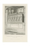 Monument of Eleanor the Queen of Edward the 1st Giclee Print by Edward Blore