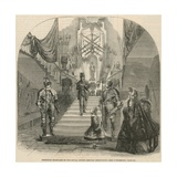 Principal Staircase of the Royal United Service Institution Giclee Print
