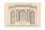 Shop Front for Mr Maber's Wine and Spirit Shop, Tyndale Place, Islington Giclee Print by Nathaniel Whittock