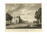 South View of Strawberry Hill, Twickenham, London, the Seat of the Honourable Horace Walpole Giclee Print by Paul Sandby