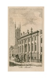 Bank of England, George Sampson's Building, 1734 Giclee Print by Samuel Wale