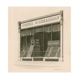 Shop Front of Messrs Jones and Shearman, Blackfriars Road, London Giclee Print by Nathaniel Whittock