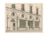 Shop Front for Fortnum and Mason, No 182 Piccadilly, London Giclee Print by Nathaniel Whittock