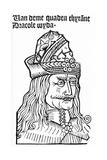 Dracula (Vlad Tepes), 1488-93 Giclee Print by German School