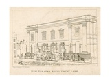 New Theatre Royal, Drury Lane, London Giclee Print by Frederick Wilton Litchfield Stockdale