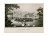 Buckingham Palace Giclee Print by Nathaniel Whittock