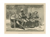 A Midsummer Night's Dream: a Sketch in a London Park Giclee Print by Harry Furniss