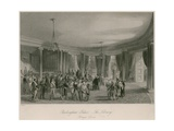 Buckingham Palace, the Library, Foreign Levee Giclee Print by Jacob Van Der Heyden