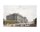 View of the Palace of Schoenbrunn, Vienna, 1792 Giclee Print by Laurenz Janscha