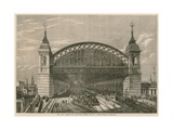The City Terminus of the South-Eastern Railway, Cannon Street, London Giclee Print