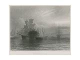 Woolwich Dockyard Giclee Print by Henry Thomas Dawson