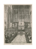 Interior of St Alban's Church, Holborn, London Giclee Print by William Hatherell
