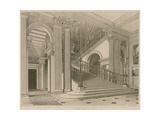 Buckingham Palace, Stair Case Giclee Print by Richard Cattermole